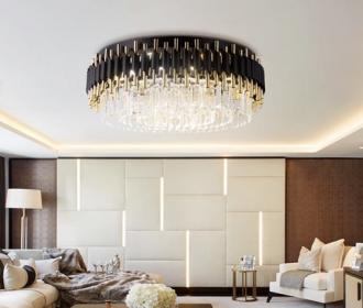 后现代轻奢个性年轻人80cm创意艺术客厅餐厅卧室别墅玻璃吸顶灯