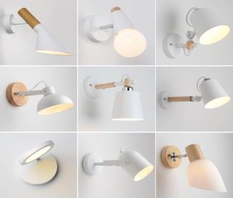 清仓壁灯床头北欧客厅过道卧室阳台欧式A简约现代床头灯创意灯具