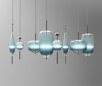 后现代极简创意小吊灯装饰组合多变吊灯客厅餐厅吧台床头装饰灯